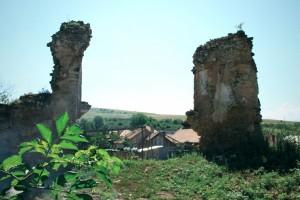panorama Castelul Bocskai din Aghiresu