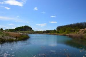 peisaj laguna Albastra