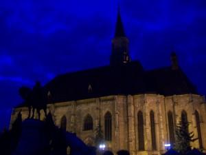 Catedrala Catolica noaptea