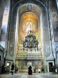 Interior Catedrala Ortodoxa