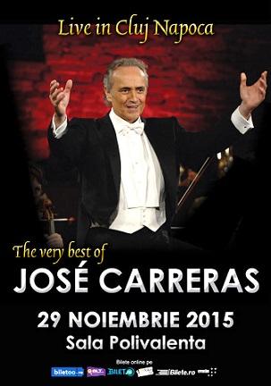 Afis JOSE CARRERAS Cluj