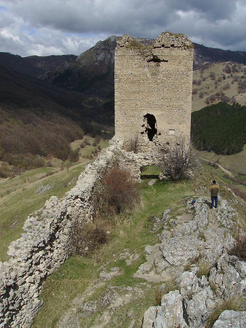 Cetatea Trascaului din Alba