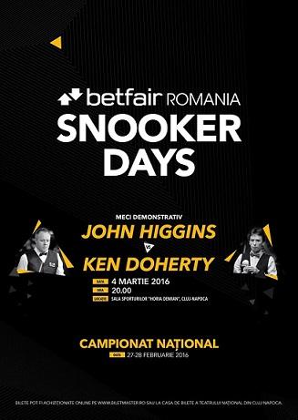 Betfair Romania Snooker Days_Cluj2016
