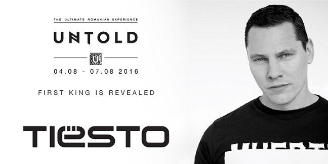 UNTOLD 2016 - TIESTO